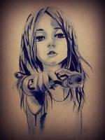 Gangsta Girl by 4DarKop5