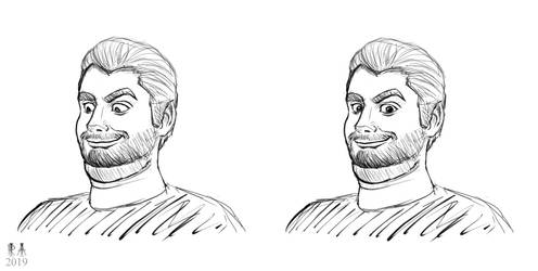 Ethan from h3h3 by CosmicRick