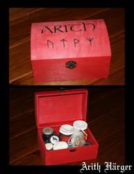 Runic Box by VikingWidunder