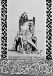 Goddess Hel by VikingWidunder