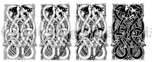 Tattoo sketch by VikingWidunder