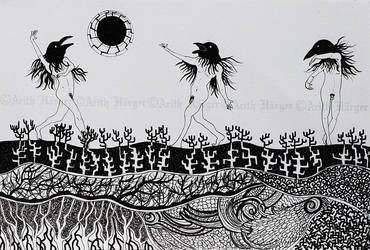 Crows' Dance by VikingWidunder