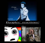 (Bleach poster) Aizen says to: ''Come here.'' by BadSkys