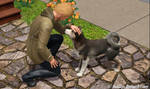 Sims 3 (Pets): Bond by BadSkys