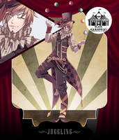 [Auction CLOSED] Black Carnival II - Juggling - by CemarAdopts