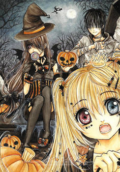 :: Trick or Treat :: by cherriuki