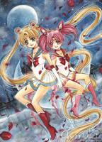Sailormoon by cherriuki