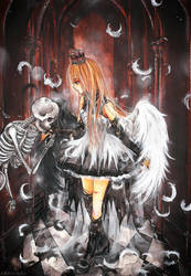 - Dance with Death - by cherriuki