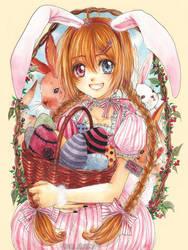 Easter Rabbit by cherriuki