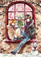 Merry Christmas by cherriuki