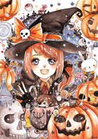 Happy Halloween! 2014 by cherriuki