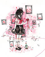 Red by cherriuki