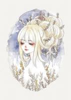 Laurels in my Hair by cherriuki