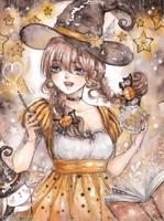Star Witch [ Speedpaint Video ] by cherriuki