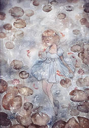 Water Lily by cherriuki