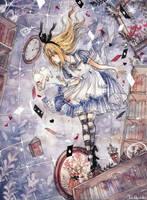 Down the Rabbit Hole by cherriuki