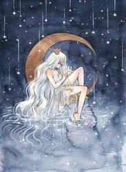 La Lune by cherriuki