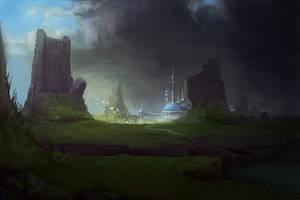 Castle by PrabhuDK