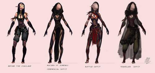 Hanan outfit redesign by airagitt