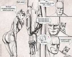 Somewhere in Arkham City 2 by Antimad1