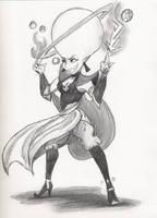 Fire Princess Gravitina by MisstressofCarodon