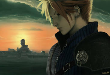 Cloud Strife by uxv