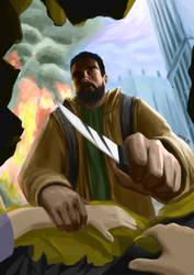 Time of Vengeance (illustration) by uxv