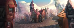 Little Random Village by Aecclesia