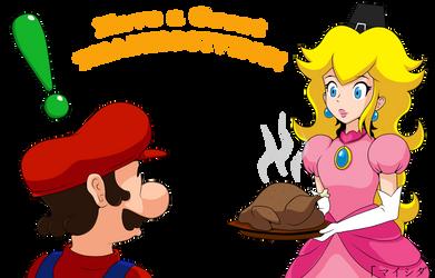 Mario's Thanksgiving Day by Maishida