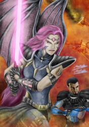 Acaedra Ocanari , the clone wars ! by DrMostafaMortaja