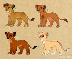 TLK Cub Adopts! (closed!) by kujoTLK