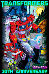 Transformers 30th Anniversary by MartySalsman