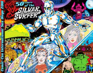 SilverSurfer50th by MartySalsman