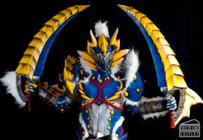 Zinogre Armor Monster Hunter 06 by Dewbunch