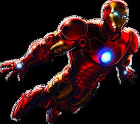Iron Man by AlexelZ