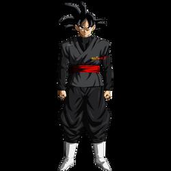 Black Goku by AlexelZ