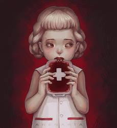 Vampire by MyaArenaria