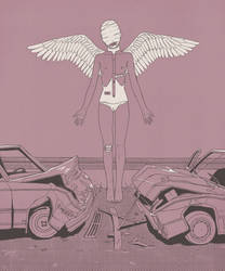Carcrush angel by MyaArenaria