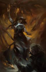 The Witcher Fan Art by tatianalis