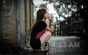 Rainmeter - Lost in thought by Athox