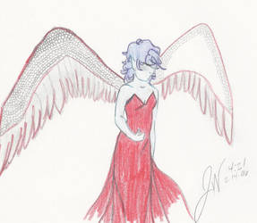 Red Angel by JennaNicole08