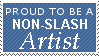 Non-Slash Artist Stamp by IMissReagan