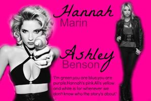Ashley Benson alias Hannah Marin by art-girl111