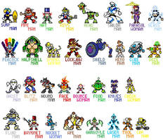 Terry's Robot Masters by Tyrranux