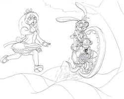 1- 'The White Rabbit' by Tyrranux