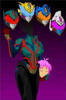 Kamen Rider Headder by Tyrranux