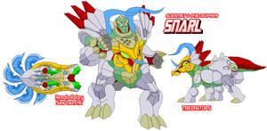 Autobot Snarl by Tyrranux