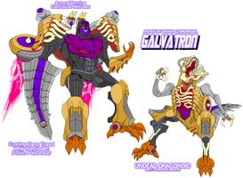Decepticon Galvatron by Tyrranux