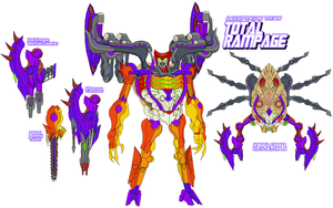 Decepticon Total Rampage by Tyrranux
