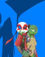 Ninja Turtle Raphael by Tyrranux